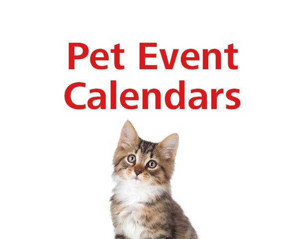 Pet Event Calendars 2021